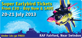 Official Royal International Air Tattoo 2013 Website